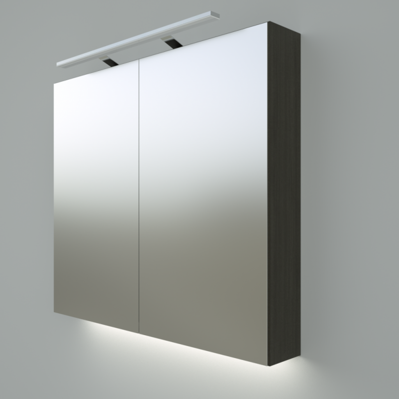 Armoire de toilette miroir max min for Armoire de toilette but